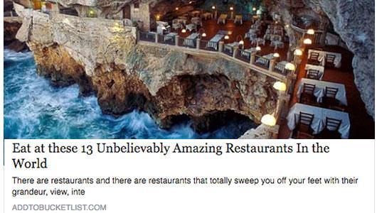 blog su Grotta Palazzese