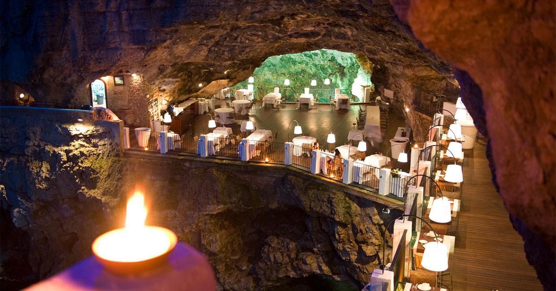 Grotta Palazzese sera